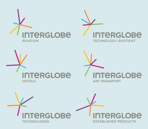 Division logos of InterGlobe