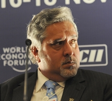 Vijay Mallya, chairman of Kingfisher Airlines