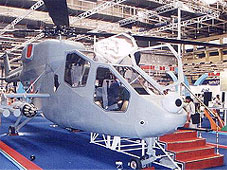 HAL Helicopter Gunship Mock Up