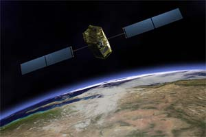Orbiting Carbon Observatory satellite