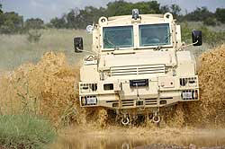 Mine Protected Vehicle
