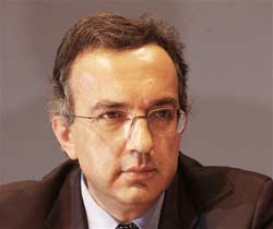 Fiat's chief executive Sergio Marchionne