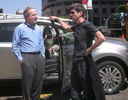 Ford's Stephen Rouhana chats with cinematographer Bill Pope
