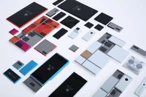 Project Ara smartphones are composed of modules assembled into metal frames