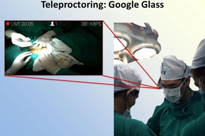 Using Google Glass to teach surgery abroad