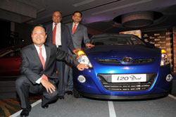 H S Lheem, managing director of Hyundai Motor India Ltd