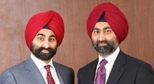 Shivinder Singh (right) and Malvinder Singh