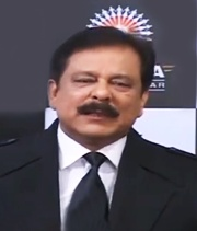 Subrata Roy, the chief of the Sahara group