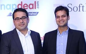 Kunal Bahl (left) and Rohit Bansal