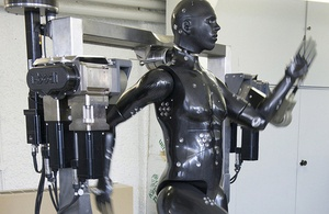 'Porton Man' mannequin at the Defence Science and Technology Laboratory