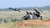 US troops fire Javelin missile during ''Yudh Abhyas'' exercises with the Indian Army in 2009. Image: US Army