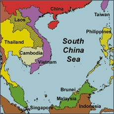 Map courtesy of the South China Sea Virtual Library