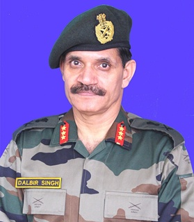India's new Army chief General Dalbir Singh Suhag