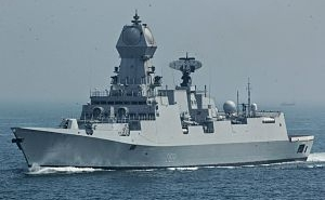 MDL launches Indian Navy's first stealth destroyer