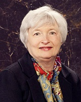 Janet Yellen, chair, US Federal Reserve