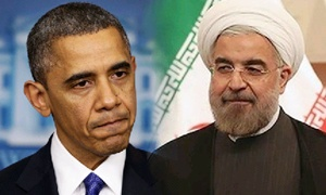 President Barack Obama and Iran's President Hassan Rouhani