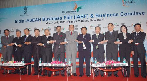 Inaugural session of the India-ASEAN Business Fair and business conclave