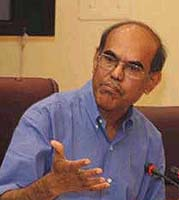D Subbarao, Governor, Reserve Bank of India
