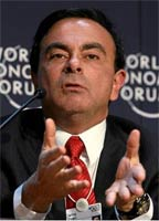 Renault-Nissan president and chief executive Carlos Ghosn