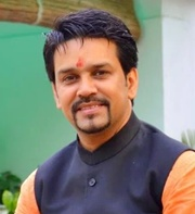 Indian cricket board president Anurag Thakur