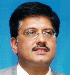 Union Coal and Power Minister Piyush Goyal
