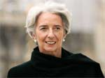 Headed for the IMF? Christine Lagarde