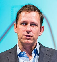 Technology billionaire Peter Thiel