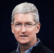 Apple chief Tim Cook